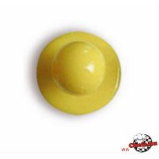 Sárga színű szakácskabát gomb 12db