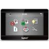 """Satel INT-TSH-BSB 7""""; érintőképernyős kezelő; fekete előlap, ezüst keret, fekete hátlap"""