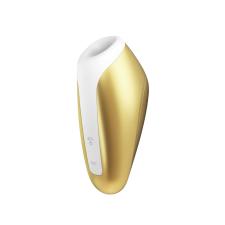 Satisfyer Love Breeze - okos, akkus, vízálló csiklóizgató vibrátor (arany sárga) vibrátorok