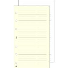 """SATURNUS Kalendárium betét, telefon bianco, """"S"""", SATURNUS, chamois gyűrűs kalendárium betétlap"""