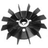 Saviplast villanymotor alkatrész Saviplast Villanymotor ventilátor lapát VA MEC 90 D19