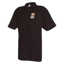 SBS sbs galléros póló (fekete) 39610 férfi póló