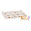 Scamp mintás narancs macis textilpelenka 3db