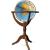 Scanglobe Világító földgömb 50 cm-es, duó, kétfunkciós, fa állványos Janine duó