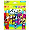 Scentos Illatos 8 darabos filctoll - élénk színek