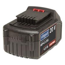 Scheppach Li-Ion akkumulátor 20 V 4 Ah barkácsgép akkumulátor