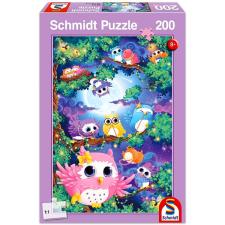 Schmidt baglyos 200 darabos puzzle puzzle, kirakós