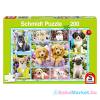 Schmidt Schmidt: Kutya kölykök 200-os db puzzle