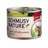 Schmusy Nature Kitten borjú és baromfi - konzerv 12x 190g