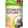 Schmusy Nature Macska Alutasakos Csirke+Lazac 100g