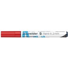 """SCHNEIDER Akril marker, 2 mm, SCHNEIDER """"Paint-It 310"""", piros filctoll, marker"""