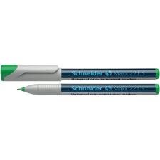 "SCHNEIDER Alkoholmentes marker, OHP, 0,4 mm, SCHNEIDER ""Maxx 221 S"", zöld filctoll, marker"