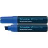 "SCHNEIDER Alkoholos marker, 4-12 mm, vágott,  ""Maxx 280"", kék"