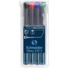 """SCHNEIDER Alkoholos marker készlet, OHP, 0,4 mm, SCHNEIDER \""""Maxx 220 S\"""", 4 különböző szín [4 db]"""