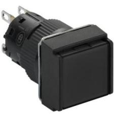 Schneider Electric Harmony XB6 Ø16 komplett nyomógomb fekete NC IP65 XB6ECA21P - Schneider Electric villanyszerelés