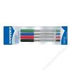 SCHNEIDER Golyóstoll, 0,5 mm, kupakos, SCHNEIDER Tops 505 M, 4 különböző szín (TSCTOP505V4)