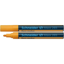 "SCHNEIDER Krétamarker, 2-3 mm, SCHNEIDER ""Maxx 265"", narancssárga nyomtató kellék"