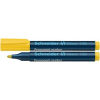 "SCHNEIDER ""Maxx 130"" 1-3 mm kúpos sárga alkoholos marker"