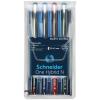 """SCHNEIDER Rollertoll készlet, 0,3 mm, SCHNEIDER """"One Hybrid N"""", 4 szín"""