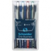 """SCHNEIDER Rollertoll készlet, 0,6 mm, SCHNEIDER \""""One Business\"""", 4 szín [4 db]"""