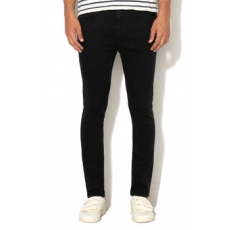 Scotch & Soda , Dart straight fit farmernadrág, Fekete, W34-L32 (144769-2180-W34-L32)