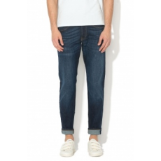 Scotch & Soda , Ralstion regular slim fit farmernadrág, Tengerészkék, W31-L34 (18051185201-1841-W31-L34)