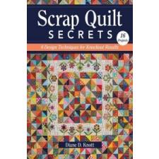 Scrap Quilt Secrets – Diane D. Knott idegen nyelvű könyv