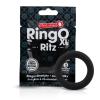 Screaming O Ritz XL - szilikon péniszgyűrű (fekete)
