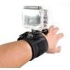 Sec-CAM SJ/GP-90, elasztikus, CSUKLÓ HEVEDER, 360 fokban FORGATHATÓ - SJCAM és GoPro akciókamerákhoz -SJCAM SJ4000, SJ5000, X1000 sorozatokhoz