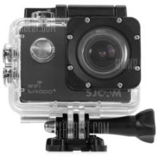 Sec-CAM SJCAM SJ4000+ Plus WIFI, akciókamera, sportkamera, EREDETI gyári, 2K (1440p, 3.7MP): 30fps / FULL HD (1080p, 2MP): 60fps, 12MP kép, vízálló tok, 170°, színes LCD, OSD, akku, alap felsz készlettel sportkamera