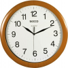 """Secco Falióra, 33 cm, SECCO """"Sweep Second"""", fa hatású keret"""