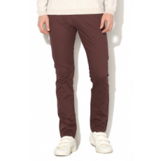 Selected Homme , Chino nadrág levehető övvel, lila, W33-L34 (16057040-DECADENT-CHOCOLATE-W33-L34)