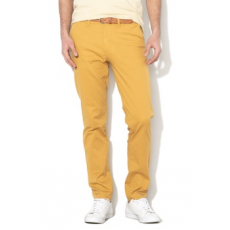 Selected Homme , Yard slim fit chino nadrág, Mustársárga, W31-L32 (16067185-HONEY-MUSTARD-W31-L32)
