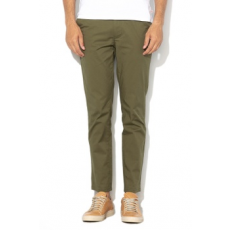 Selected Homme , Yard slim fit chino nadrág, Olívazöld, W33-L32 (16062977-OLIVE-NIGHT-W33-L32)