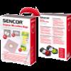 Sencor SVC 45 10 db porzsák + 5 db illatrúd