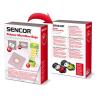 Sencor SVC 45 papírzsák 10 db + 5 db illatosító rúd