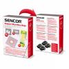 Sencor SVC 8 papírzsák 10 db + 5 db illatosító rúd
