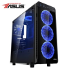 Serioux Gamer Powered by ASUS gaming asztali számítógép, Intel® Core™ i5-8400 2.80GHz-es processzorral, Coffee Lake, 8GB RAM DDR4, 1TB HDD, 120GB SSD, ASUS GeForce® GTX 1060 6GB GDDR5 DUAL OC (SRX-5949088513415)