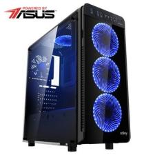 Serioux Gamer Powered by ASUS gaming asztali számítógép, Intel® Core™ i5-8400 2.80GHz-es processzorral, Coffee Lake, 8GB RAM DDR4, 1TB HDD, 120GB SSD, ASUS GeForce® GTX 1060 6GB GDDR5 DUAL OC (SRX-5949088513415) asztali számítógép