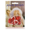 Seven Creations ANAL BALLS - CLEAR RED LARGE