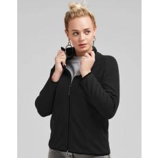 Sg Női hosszú ujjú kabát SG Ladies' Full Zip Microfleece M, Szénszürke