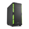 Sharkoon AI7000 Silent fekete-zöld (4044951020836)