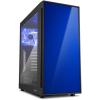 Sharkoon AM5 Window táp nélküli ATX számítógépház kék