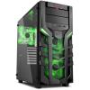 Sharkoon DG7000-G táp nélküli ATX számítógépház fekete-zöld