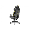 Sharkoon Shark Zone GS10 gamer szék - fekete-sárga (4044951019533)