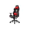 Sharkoon Skiller SGS3 gamer szék - fekete-piros (4044951019502)