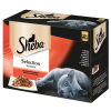 Sheba 12 x 85 g Sheba tasakos variációk nedves macskatáp - selection szószban finom változatosság