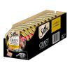 Sheba 22x85g Sheba Craft Collection tálcás nedves macskatáp- Pástétom finom darabkákkal - pulyka