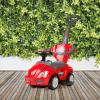 Shoppy Bayo Mega Car 3 az 1-ben tolókaros kisautó, piros
