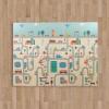 Shoppy Playto multifunkciós habszivacs játszószőnyeg, város